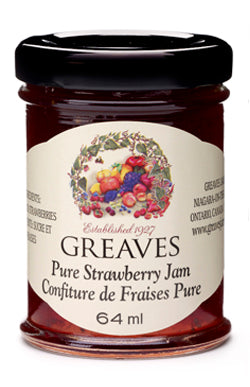 Greaves Strawberry Jam 64ml