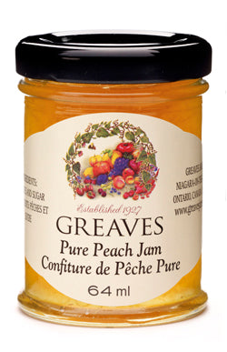 Greaves Peach Jam 64ml