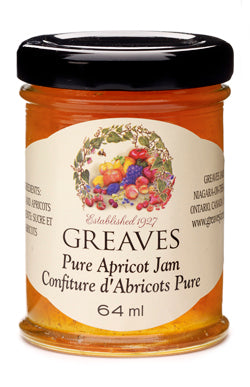 Greaves Apricot Jam 64ml