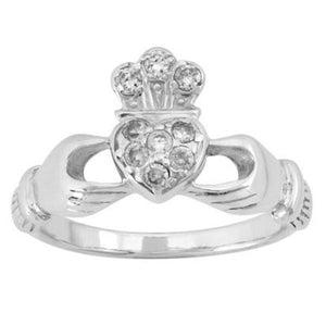 Boudicca Ring - Silver Claddagh Ring