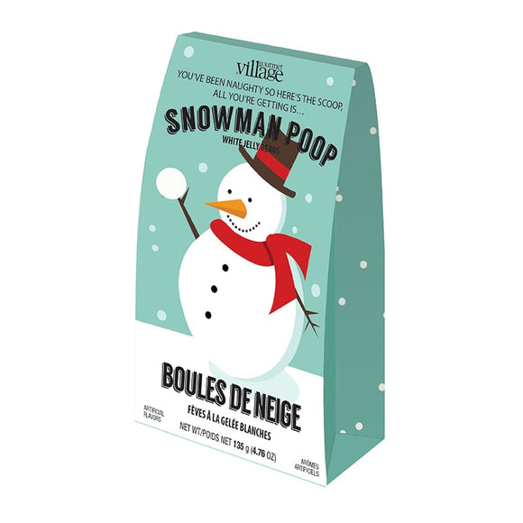 Snowman Poop Jelly Beans