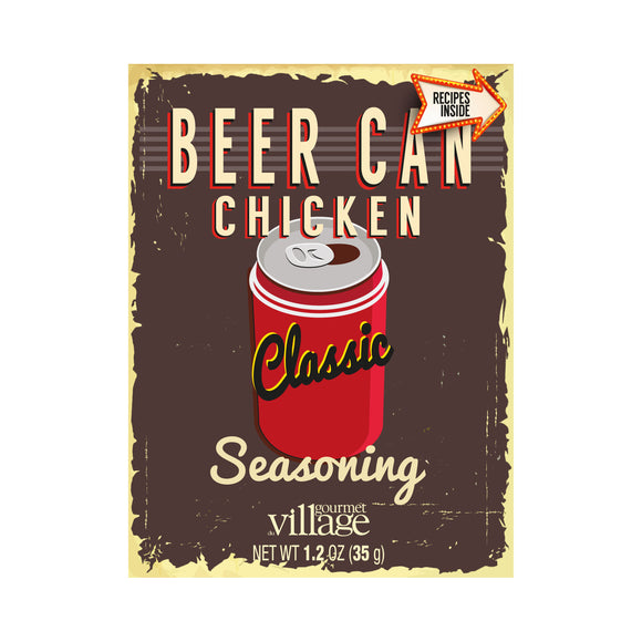 Gourmet du Village Beer Can Chicken Seasoning