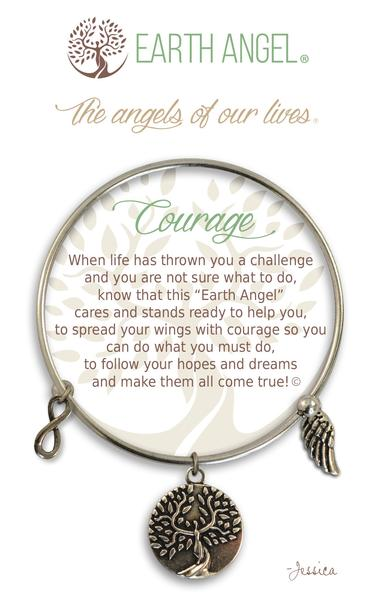 Earth Angel Bracelet: Courage Charm