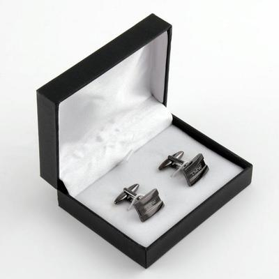Gunmetal Cuff Links