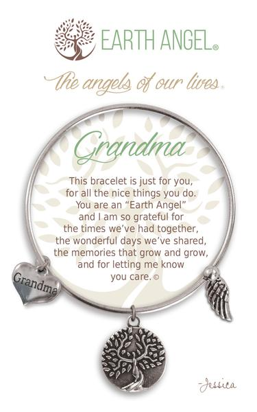 Earth Angel Bracelet: Grandma Charm