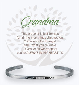 Earth Angel Bracelet: Grandma Cuff