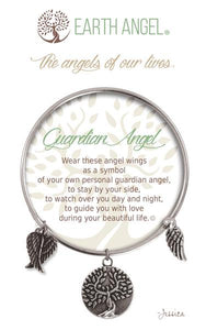 Earth Angel Bracelet: Guardian Angel Charm
