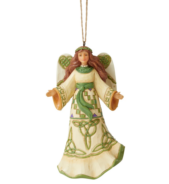 Jim Shore Irish Angel Ornament