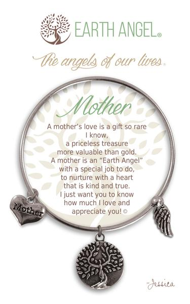 Earth Angel Bracelet: Mother Charm