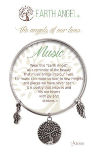 Earth Angel Bracelet: Music Charm