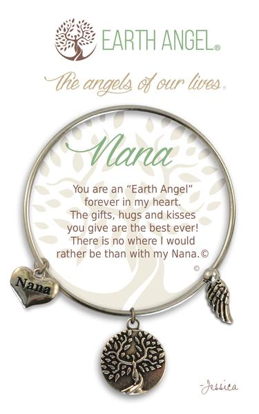 Earth Angel Bracelet: Nana Charm