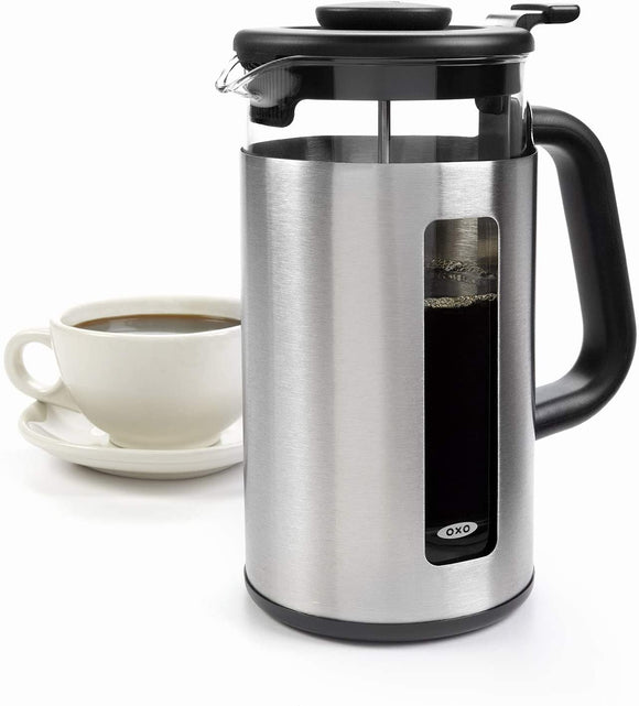 Brew 8-Cup French Press with GroundsLifter™