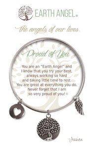 Earth Angel Bracelet: Proud of You Charm
