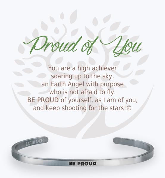 Earth Angel Bracelet: Proud of You Cuff