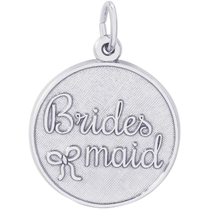 Brides Maids Sterling Silver Charm