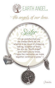Earth Angel Bracelet: Sister Charm