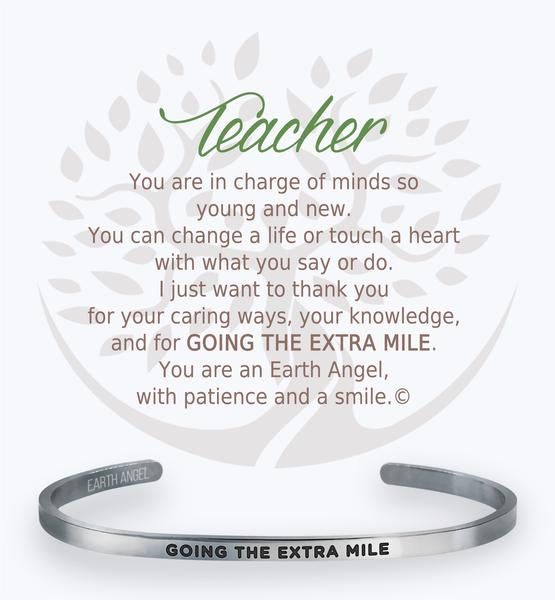Earth Angel Bracelet: Teacher Cuff