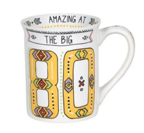 Our Name is Mud The Big 80 Cuppa Doodle Mug