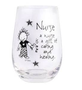 Children of Inner Light Nurse Stemless Glass