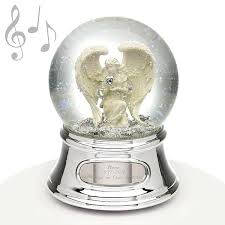 Angel Water Globe