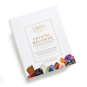 Earth Luxe Crystal Wellness Stones 12pc. Set