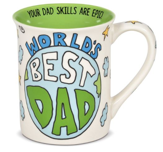 Our Name Is Mud Best Dad Moon Mug