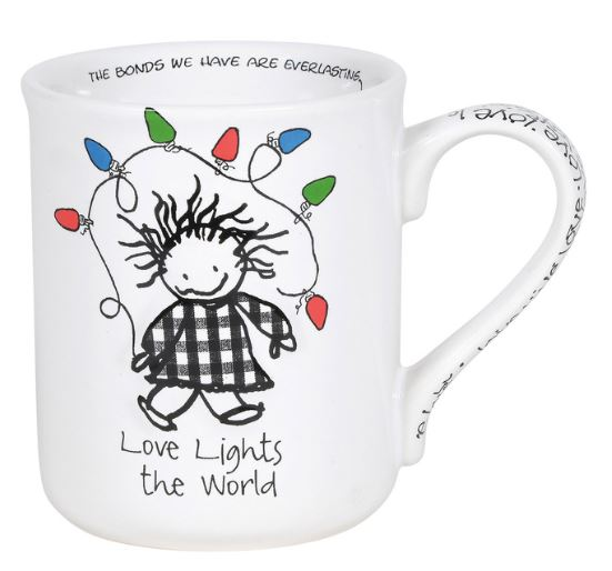 Children of Inner Light Christmas Lights Mug
