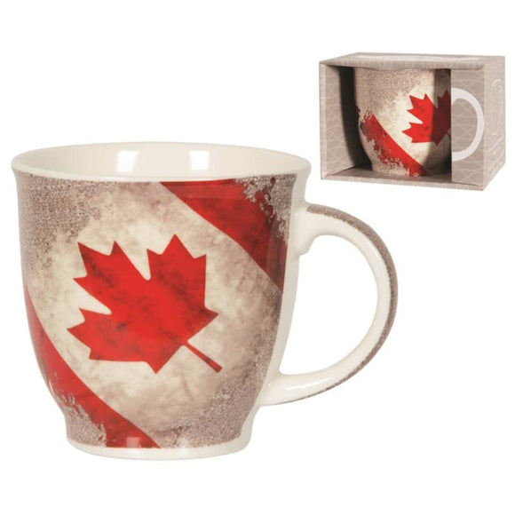 Canada Flag Bone China Mug