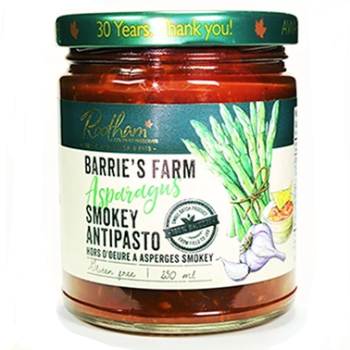 Rootham's Barrie's Farm Asparagus Smokey Antipasto 250 ml