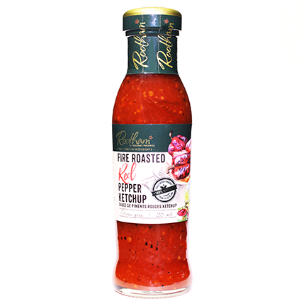 Rootham's Fire-Roasted Red Pepper Ketchup 250 ml