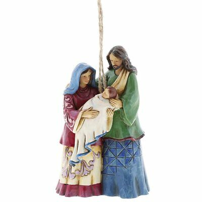 Jim Shore Holy Family Ornament