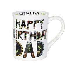 "Our Name is Mud ""Happy Birthday Dad"" Mug"