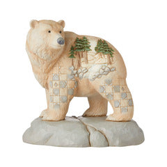 Jim Shore Woodland Bear with Scene