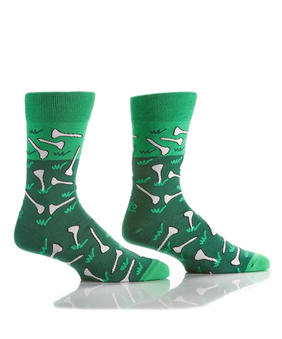 Yo Sox Golf Men's Crew Sock