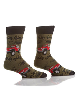 Yo Sox Rugged Ride Men's Crew Sock