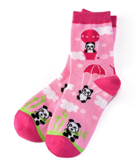 Panda Land Socks (Girls / 7-10 Years)