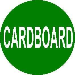 Mighty Line CARDBOARD Floor Sign
