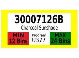 Mighty Line FIFO Sign With Min./Max Quantities Floor Sign