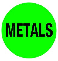 Mighty Line METALS Floor Sign