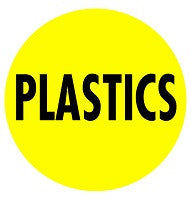 Mighty Line PLASTICS Floor Sign
