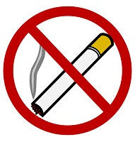 Mighty Line No Smoking Allowed Floor Sign