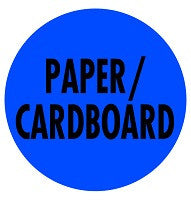 Mighty Line PAPER/CARDBOARD Floor Sign