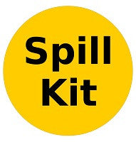 Mighty Line Spill Kit Available Here Floor Sign
