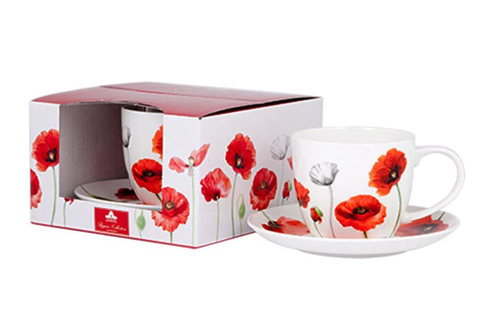 Poppies AWM Cup & Saucer