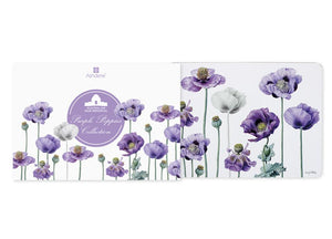 Purple Poppies AWM 4pk Placemat