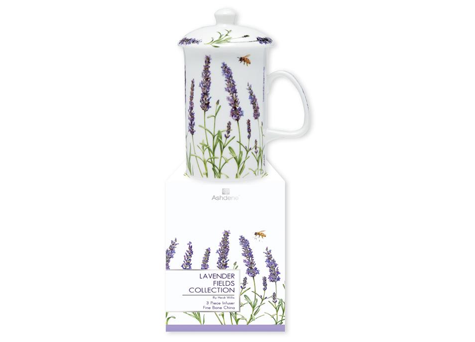 Lavender Fields 3 Piece Infuser