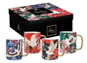Osaka Assorted 4pce Mug Set