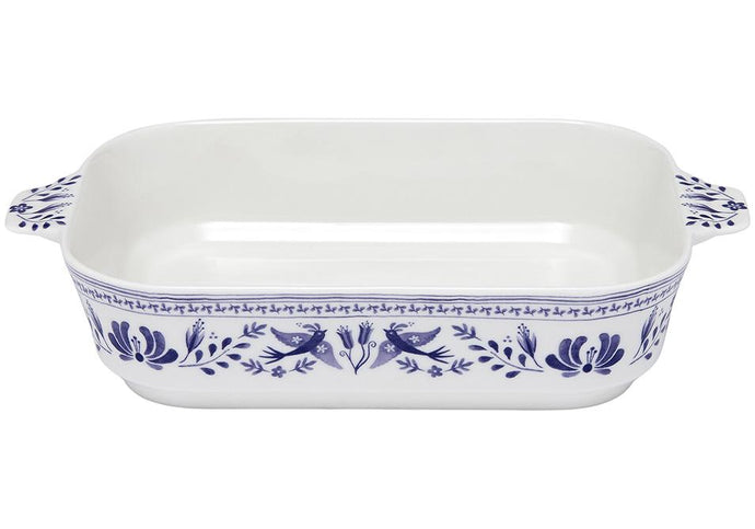 Blue Mazarine Medium Rectangle Baking Dish