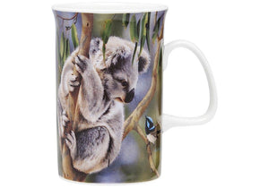 Fauna of Aus Koala & Wren Can Mug