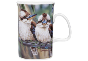 Fauna of Aus Kookaburras Can Mug
